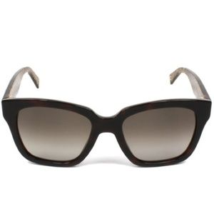 MARC JACOBS 229/S Brown/Gold Glitter Sunglasses